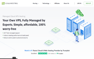 Affordable Managed VPS hosting By Scalahosting