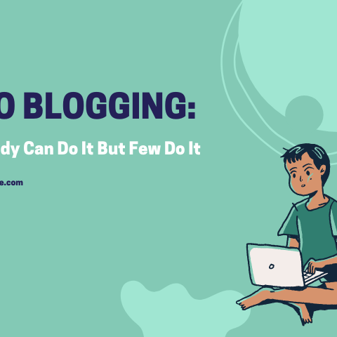 Pro Blogging: Anybody Can Do It But Few Do It