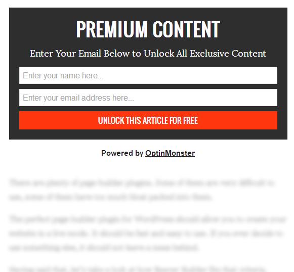 content locking example