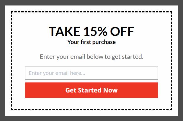 coupon popups