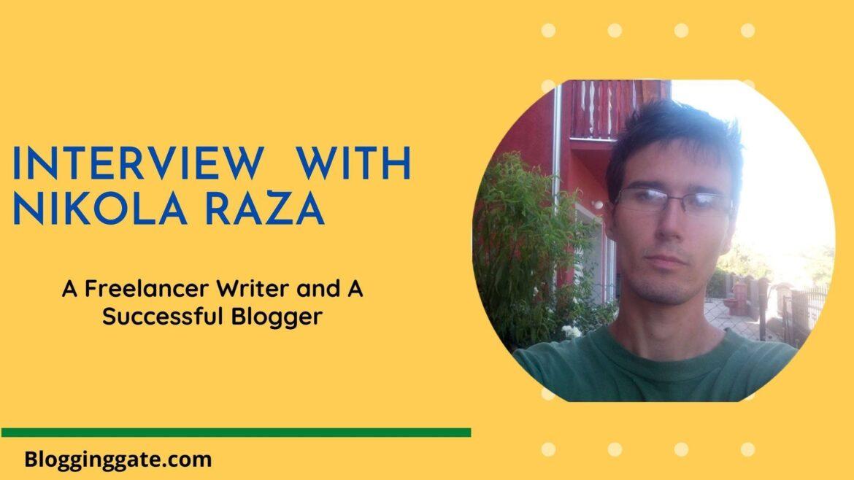 Interview With Nikola Roza